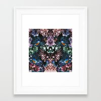 crystal Framed Art Prints featuring Crystal by Kangarui by Rui Stalph