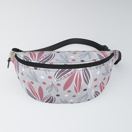 Hedgerow in grey Fanny Pack