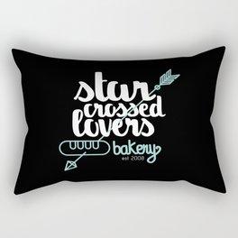Starcrossed lovers bakery Rectangular Pillow