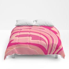 Girl in Love Comforters