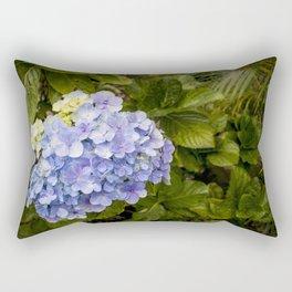 Lavender Hydrangeas in Nicaragua Rectangular Pillow