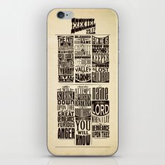 Ezekiel 25:17 iPhone & iPod Skin