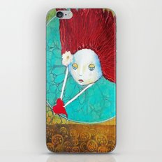 Angel With Heart iPhone & iPod Skin