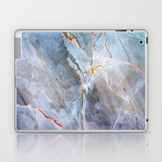 Grey Marble Texture Laptop & iPad Skin
