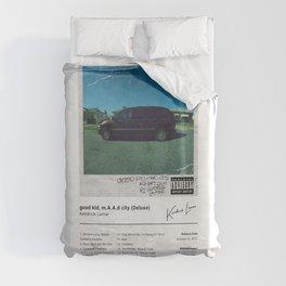Kendrick Lamar - good kid, m.A.A.d city (Deluxe) - Album Art Duvet Cover