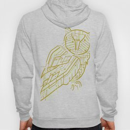 Electric Owl Art Hoody