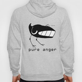 pure anger fishcrowson Hoody