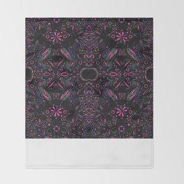 Modern Tribal Throw Blanket