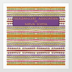 Folkdancers' Association of Nova Scotia Art Print