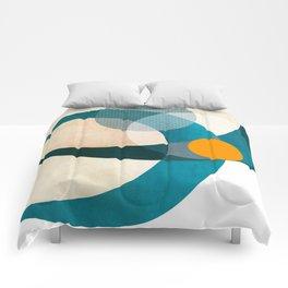 retro in love Comforters