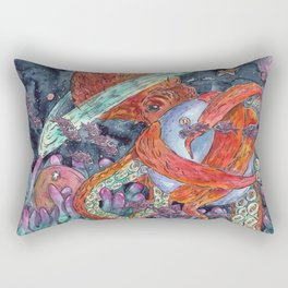 Under the Sea and into the Sky Rectangular Pillow