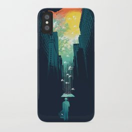 I Want My Blue Sky iPhone Case