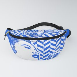 Lady Day (Billie Holiday block print) Fanny Pack