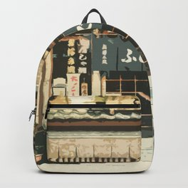 Japan - 'The Old Grocery Store' Backpack