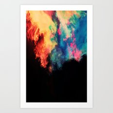 Painted Clouds V.I Art Print