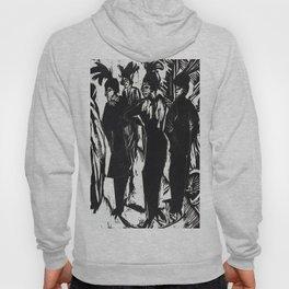 Ernst Ludwig Kirchner Five Women on the Street Hoody