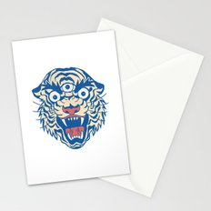 Third Eye Tiger Flash Stationery Cards
