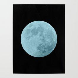 BLUE MOON // BLACK SKY Poster