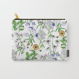 Beautiful pattern with summer meadow flowers Carry-All Pouch