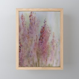 heather Framed Mini Art Print