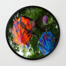 Upside Downpour Wall Clock