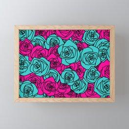 Field of Roses Framed Mini Art Print