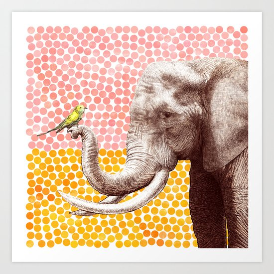 New Friends 2 by Eric Fan and Garima Dhawan Art Print