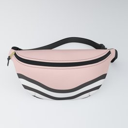 Waves of Pink Fanny Pack