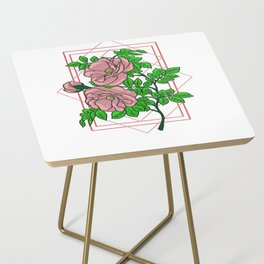 Rose Gold Aesthetic Side Table