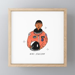 mae jemison Framed Mini Art Print