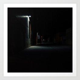 Melrose By Night Art Print