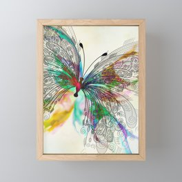 Butterfly Framed Mini Art Print