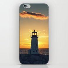 Lone Cloud Lighthouse iPhone & iPod Skin