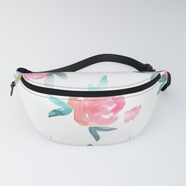 Scattered - Watercolor Florals Fanny Pack