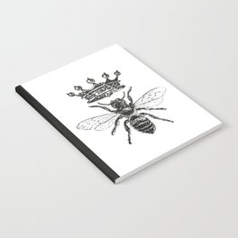 Queen Bee | Black and White Notebook