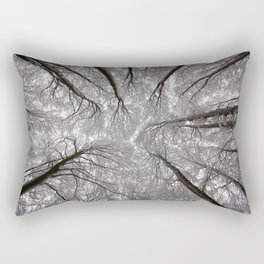 synapses of ice Rectangular Pillow