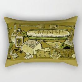 My Mid-Century Kitchen Rectangular Pillow