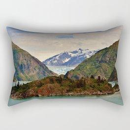 Tracy Arm Fjord Glacier, Juneau Rectangular Pillow