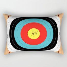 Shooting Target Rectangular Pillow