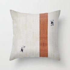 Mandalorian! (3 of 3) Throw Pillow