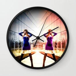 Lynn Twin Wall Clock
