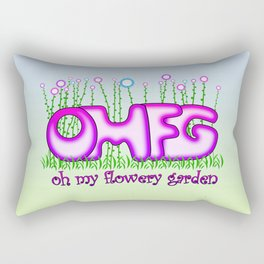 OMFG Rectangular Pillow