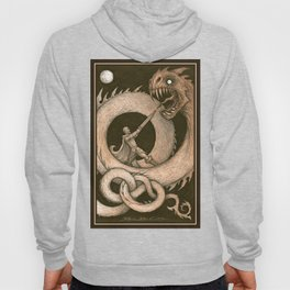 the Dragons Blight and the Warrior Bright Hoody