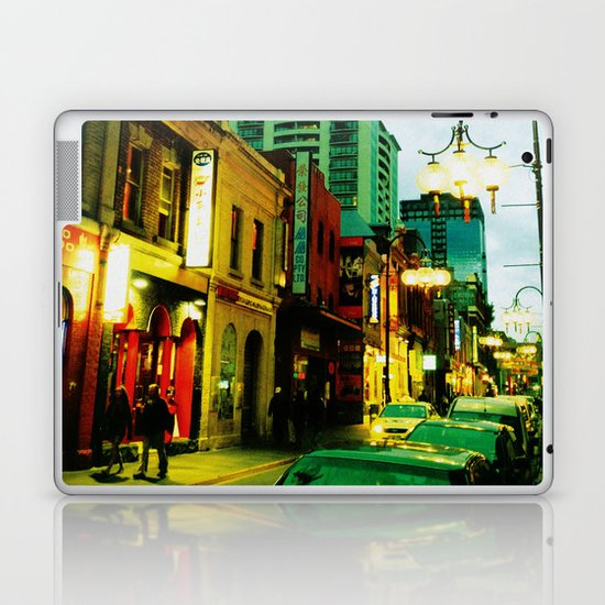Chinatown Colour Laptop & iPad Skin
