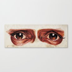 Suffered look Canvas Print