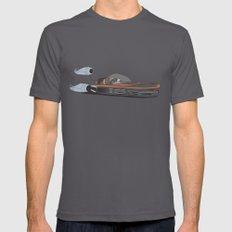 X-34 Landspeeder MEDIUM Asphalt Mens Fitted Tee