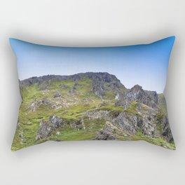 Adventure in The Mountains - Summer Scene #decor #society6 #buyart Rectangular Pillow