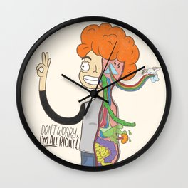 Don't Worry, I'm All Right! Wall Clock