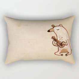 Ukulele Bear Rectangular Pillow