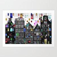 Amsterdam 33 Art Print